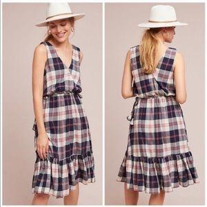 Isabella Sinclair Plaid Ruffle Dress